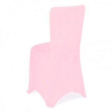 Fitted Lycra Chair Cover Baby Pink