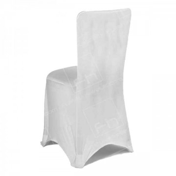 Fitted Lycra Chair Cover Silver