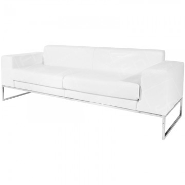 Lay Sofa Large White