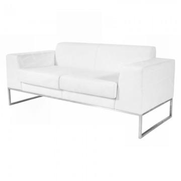 Lay Sofa White
