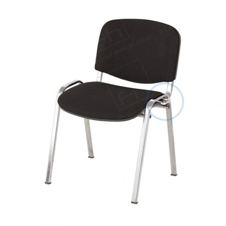 Black Stacking Chair Hire With Loops