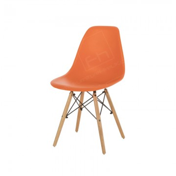 Orange Esme Chair