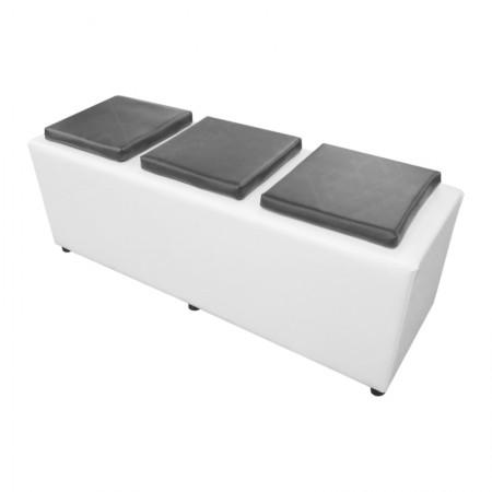White Cube Bench Rental