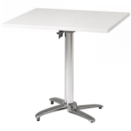 White Square Bistro Table Hire