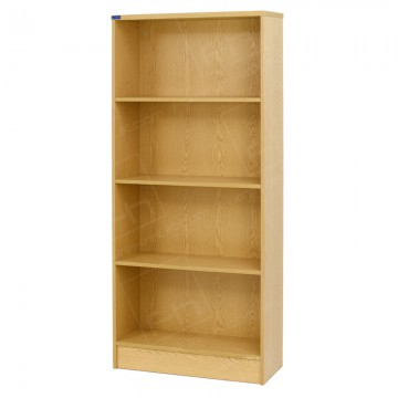 Wooden Bookcase With 3 Shelves