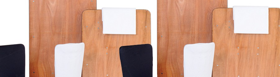 rectangular trestle tables