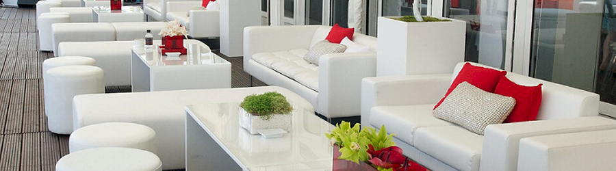 White Sofa Hire UK